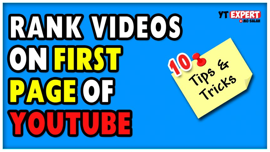 How To Rank YouTube Videos On First Page Of YouTube