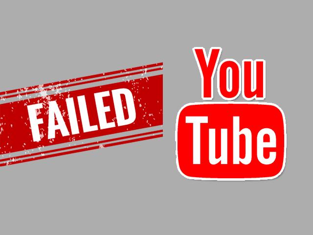 youtube mistakes