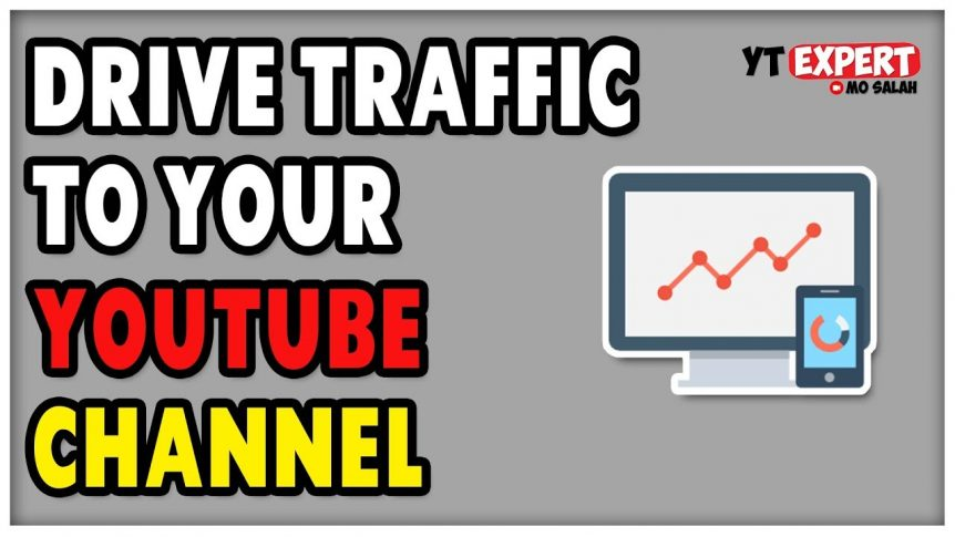 drive traffic to YouTube channel