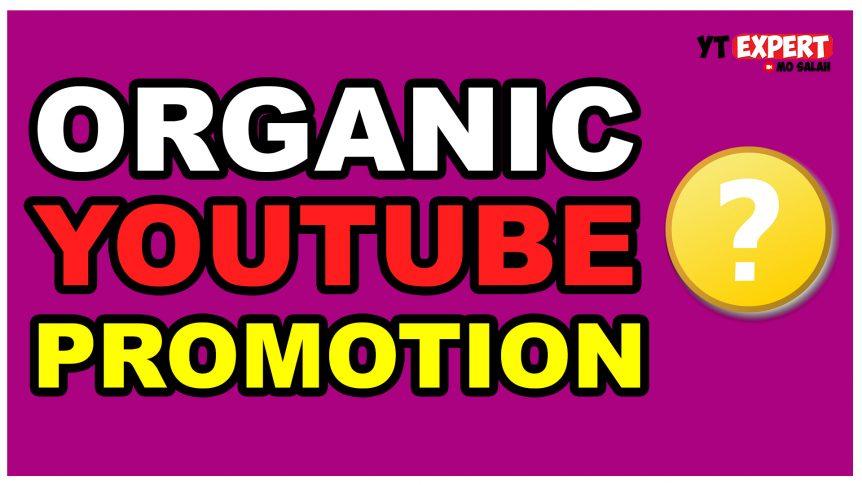 Organic YouTube Promotio